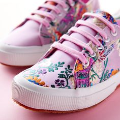 Orient an eye-catching ensemble with the Superga® 2750 Korelaw Sneaker. Embroidered textile upper. Lace-up closure with metal eyelets for an adjustable fit. Signature round-toe Superga® silhouette. Shop now on Zappos.com!