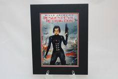 Resident Evil: Retribution 8x10 Movie Backer/Mini Poster Display by SinCityDisplays