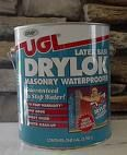 Question and answers about Dryloc. monster mud is Used when making props to give concrete look that consists of drywall joint compound and exterior latex paint mixed together giving you a weather proof material. Some people use sand in the mixture to give it a texture of stone. The dryloc can give you extra weatherproofing and can be painted after project dries. The texture is is like paint mixed with sand.