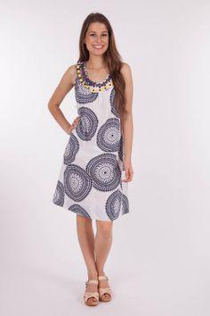 Yarra Trail - S/Less Beaded Dress