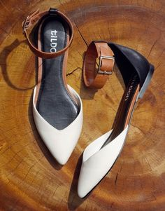 Ankle strap flats by @Nordstrom. Love!