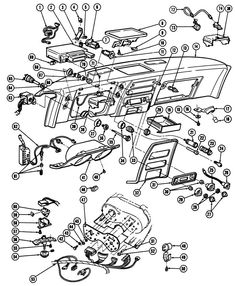 320 best car stuff images in 2019 assembly line antique cars autos 1971 Dodge Coronet Station Wagon 1967 68 firebird instrument panel exploded view exploded view firebird car stuff