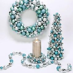 Tiffany blue christmas decor!