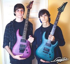 Scott LePage & Tim Henson from the instrumental band Polyphia #Polyphia #TimHenson #ScottLePage #guitarist