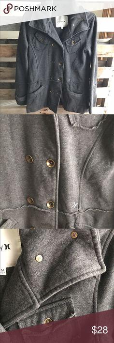 Women's Hurley coat GUC medium Soft coat w/military look. Smoke and pet free home. Bundle discount 20% Hurley Jackets & Coats