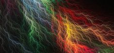 This HD wallpaper is about multicolored lightning artwork, digital art, simple, abstract, Original wallpaper dimensions is file size is Lit Wallpaper, Colorful Wallpaper, Fractal Design, Fractal Art, Background Pictures, Lights Background, 4k Background, Blitz, World Of Color