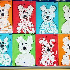 Polar animals preschool crafts, animal crafts, bears preschool, preschool p Polar Animals Preschool Crafts, Bears Preschool, Animal Crafts For Kids, Preschool Plans, Children Crafts, Preschool Art, Artic Animals, Nocturnal Animals, In Kindergarten