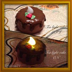 Tea light cake By:Anna.TV