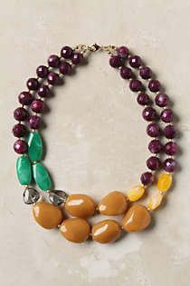 Anthropologie - Drawing Room Necklace