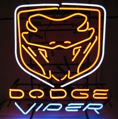 Dodge Viper Auto Car Neon Sign for Sale - Hanto Neon Sign Auto Car – Hanto neon sign