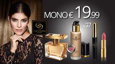 ΤΟ ΑΠΟΛΥΤΟ ΣΕΤ GIORDANI GOLD ΜONO €19.99 από αρχική €97! Περιλαμβάνει το άρωμα Miss Giordani , το νέο Make-up Age Defying GG - Light Ivory, τη νέα Μάσκαρα για Μήκος GG - Black, και το κραγιόν Iconic με SPF 15 GG Rose Petal. Έως και 11/10 ή εξαντλήσεως των αποθεμάτων.