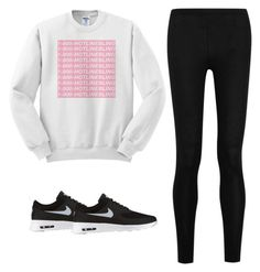 """""""Hotline bling"""" by pretty-girl-prep ❤ liked on Polyvore featuring Donna Karan and NIKE"""