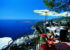 Le Café du Jardin – Eze, France ~ The World's 30 Most Amazing Restaurants With Spectacular Views Best Vacation Destinations, Best Vacations, The Places Youll Go, Places To Go, Eze France, Provence, Bangkok, Beautiful Places In The World, French Riviera