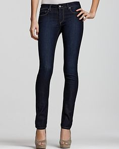 "Paige Denim Skyline 12"" Skinny Jeans in Fountain Wash | Bloomingdale's"