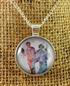 Star Wars Luke Skywalker & Princess Leia Pendant Necklace