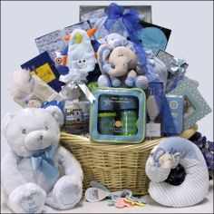baby gift baskets | Unique Baby Boy Gift Baskets - New Baby Boy Gifts ha ha ha ho ho ho merry babies Christmas this is the mother of all gift baskets