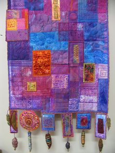 Art quilt by Linda Stokes