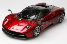 108.80$  Buy now - http://alix7p.worldwells.pw/go.php?t=32458690048 - * Welly GTAUTOS Pagani Huayra 1/18 Red High Quality Version Alloy Model Car