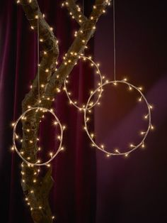 A circular IKEA STRÅLA LED hanging lamp can stand for a wreath, frame a decoration or simply bring some of the festive season into your home. IKEA STRÅLA 15 € Source by mpTabatha