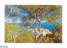Obrazy  CM Paesaggio a Bordighera, Claude Monet
