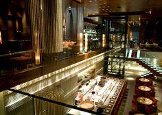 ZUMA Dubai /Japanese Restaurant /  interior design by STUDIO GLITT