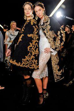 Look FW12 de Dolce & Gabbana