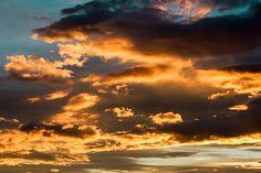 Abendhimmel, Himmel, Wolken