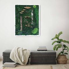 """#botanicalart is the latest, innovative #interiordesign solution to #bringnatureindoors and enjoy it every day in the comfort of your home.…"""" Moss Art, Interior Decorating, Interior Design, Unique Wall Art, Nature Decor, Enjoy It, Botanical Art, Wall Signs, Your Space"""