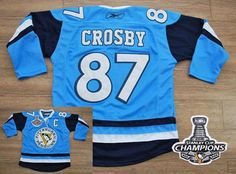 Penguins  87 Sidney Crosby Baby Blue 2011 Winter Classic Vintage 2016  Stanley Cup Champions Stitched. Cheap Nba JerseysNhl ... f79111503