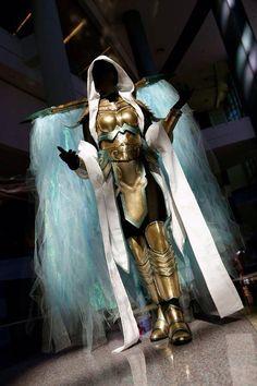 Epic Auriel (from Diablo III) cosplay - http://www.tripleacosplay.com