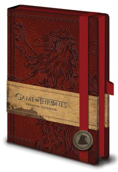 Game of Thrones Lannister Premium A5 Notebook