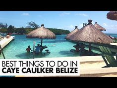 5 Reasons Why You Need to Go To Caye Caulker, Belize | One Chance Travel Belize Vacations, Belize Travel, Caye Caulker Belize, Waterproof Camera, Travel Videos, Snorkeling, Cool Places To Visit, Things To Do, Island