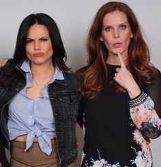 Is this Lana and Rebecca or Regina and Zelena?