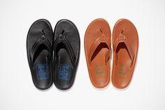 2e83b888d2a Stussy x Island Slipper 2012 Leather Sandal