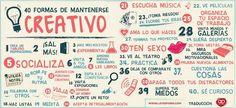 40 formas de mantenerte creativo - Evidencias de que la creatividad es lúdica...
