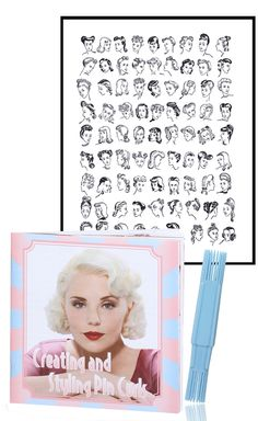Create easy pin curls with the Sculpture Pin Curl Tool. The box includes a 50 page booklet on how to set pin curls for beautiful vintage hairstyles