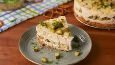 Pickle Cheesecake