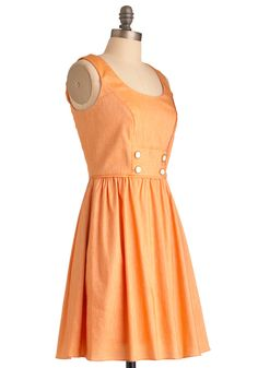 Orange Soda Float Dress | Mod Retro Vintage Dresses | ModCloth.com