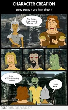 Why is this happening to me! #Skyrim