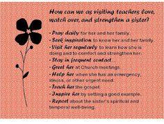 Visiting Teaching Handouts - April 2012 #1