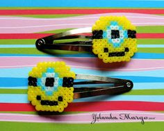 Horquillas Minions Hama/Pixy beads