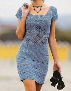 .crochet dress
