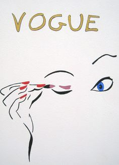 Vintage Vogue Magazine Cover   EPTAS Gallery