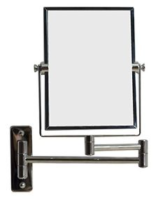American Imaginations AI-646 5-in. W x 13-in. H Rectangle Chrome Wall Mount Magnifying Makeup Mirror With Dual 1x/5x Zoom American Imaginations http://www.amazon.com/dp/B00MYC3GRG/ref=cm_sw_r_pi_dp_ubbjvb0P7T67D