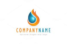 For sale. Only $29 - energy, fox, water, flame, ignite, movement, dynamic, power, fluid, fire, drop, liquid, droplet, tail, element, source, oil, burn, burning, physics, tongue, extinguish, flammable, logo, design, template,