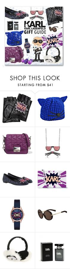 """""""Karl Lagerfeld Gift Guide"""" by leanne-mcclean ❤ liked on Polyvore featuring Karl Lagerfeld"""