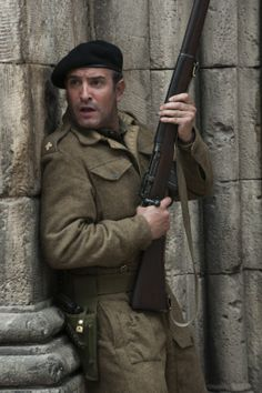 "Jean Dujardin in ""The Monuments Men"". Adorable"