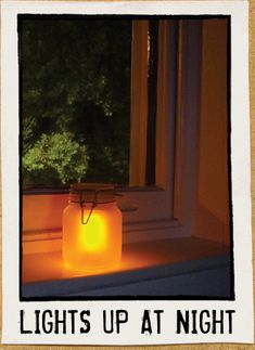 Light the night with a beautiful Sun Jar, a solar powered garden light with a vintage mason jar appeal. Cast a soft glow in your garden, window or anywhere!