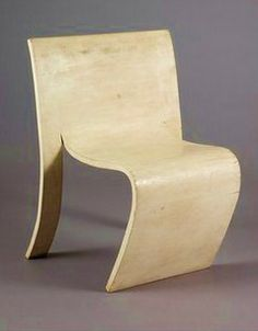 Bent ply furniture from early 20th century designer Gerald Summers
