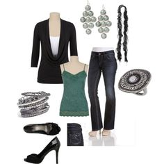 Friday night out, created by sharonkraft on Polyvore